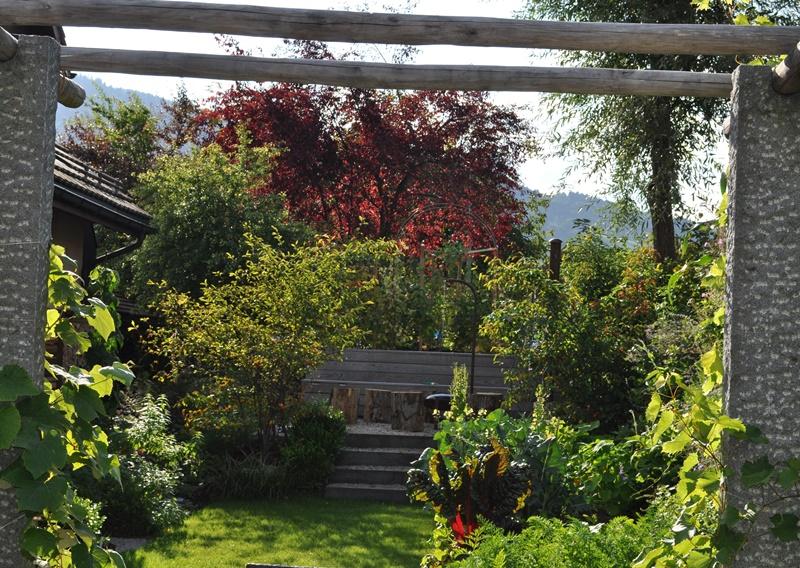 Septemberlicht im Garten