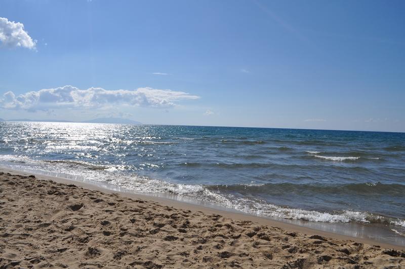 Meer in San Vincenzo (Herbst 2014)