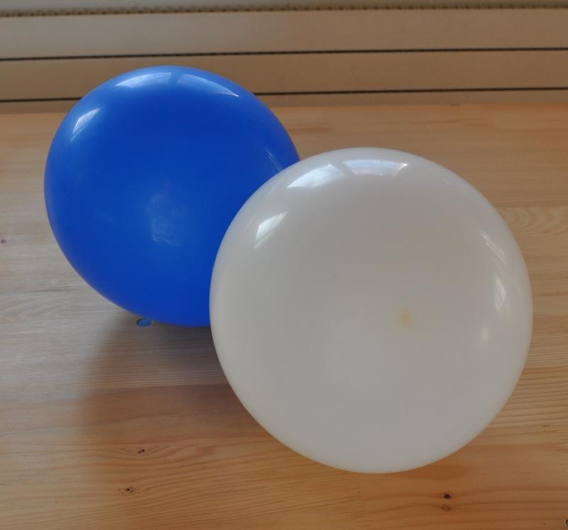 Ballone halten lange und dient den Kindern vielseitig.