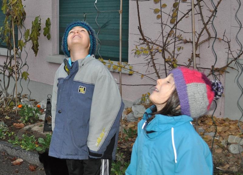 Als wir uns auf den Weg machten, spürten wir feine Regentropfen im Gesicht.