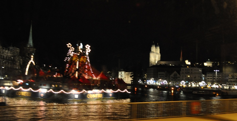 Zürich glänzte im Licht. Schade, dass die Temperaturen einfach viel zu hoch sind für die Jahreszeit.