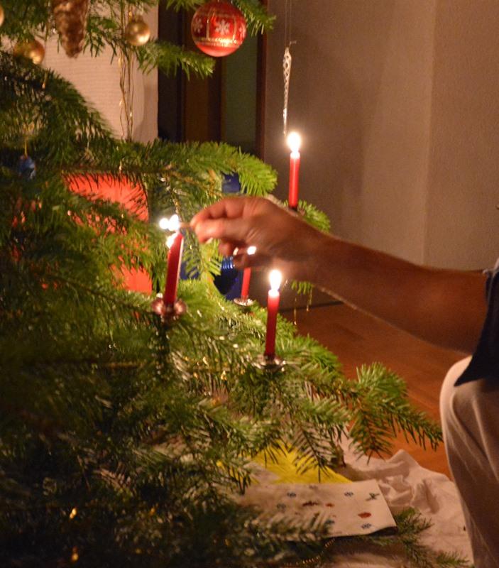 Für viele glückliche aber auch schwierige Momente des Jahres zünden wir Kerzen an.